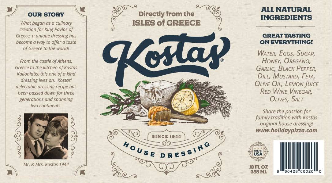 Kostas label