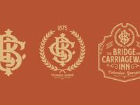 Bci monograms logos vf