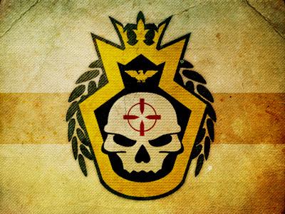 BF3 Recon Platoon Emblem recon platoon emblem military insignia army bf3 battlefield logo
