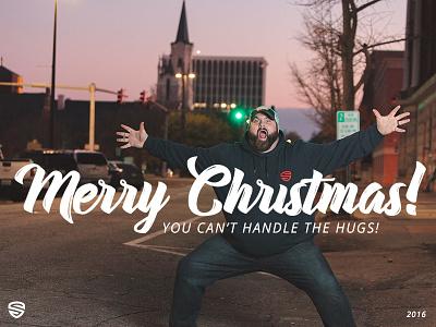 Merry Christmas! hugs serve 2016 christmas