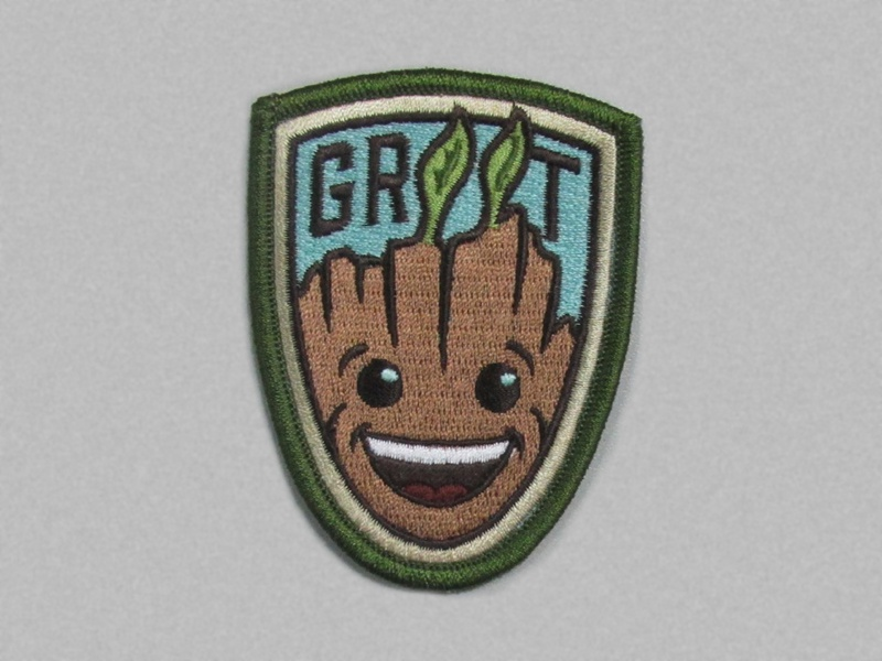 Groot Patch for fun is here! fun illustration groot badge patch
