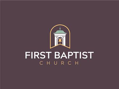 First Baptist Church of Columbus GA - Rebrand baptist bell tower bell logo church logo church branding branding brand