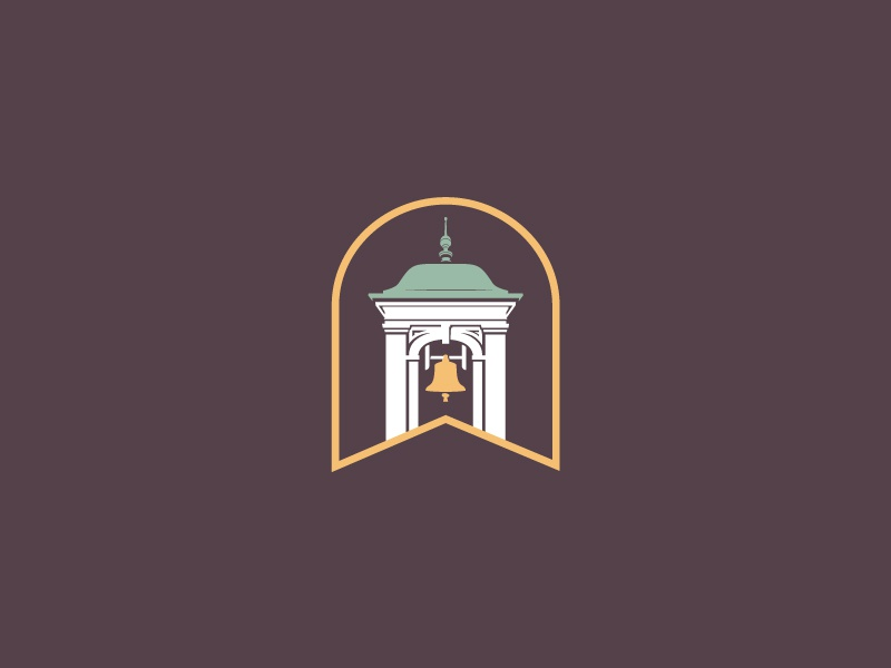 First Baptist Church - Secondary baptist bell tower bell logo church logo church branding branding brand