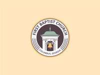 First Baptist Church - Tertiary Badge