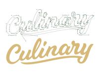 Culinary Script