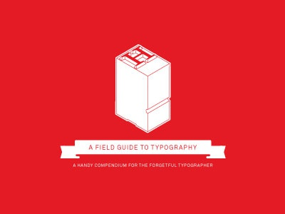 Typebook Cover typography vector type