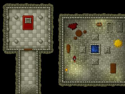 Pixel Dungeon illustration pixel rpg dungeon