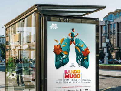 Rando Muco 2021 poster vector illustration