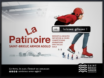 Patinoire ice rink vector skate rink ice