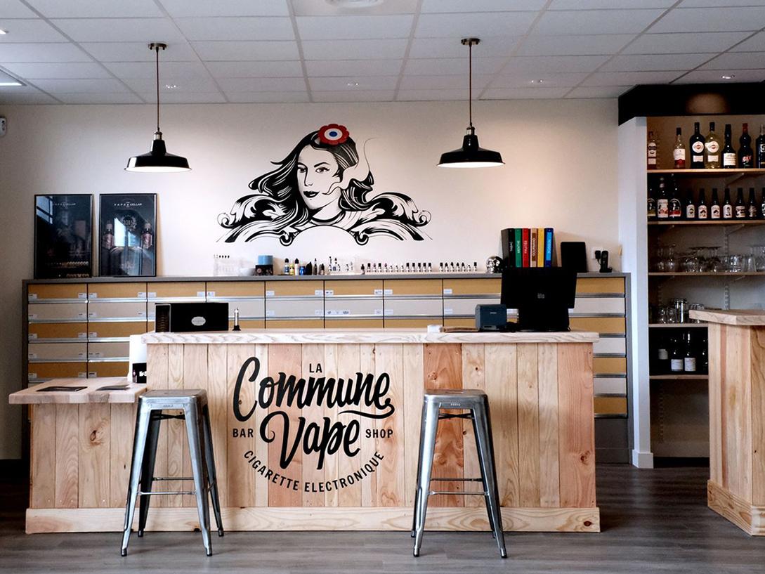 La Commune Vape by Zig on Dribbble