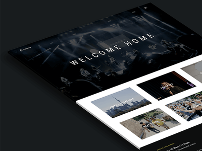 C3 Toronto toronto church website uiux web design