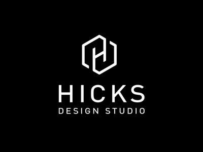 Hicks Design Studio Logo brand identity logo architects branding logo design