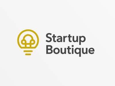 Startup Boutique Logo startup branding logo design logo