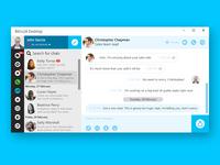 CRM desktop app redesign
