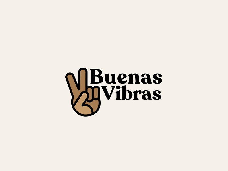 Buenas Vibras type typography vector illustration design latinx san francisco branding