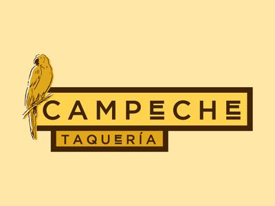 Campeche Taqueria restaurant branding rejected mexican san francisco