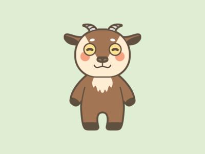 Goat Mascot Design
