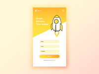Daily UI Challenge #001|Sign up