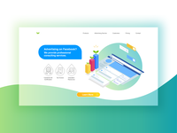 Daily UI Challenge #003|Landing Page