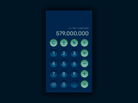 Daily UI Challenge #004|Calculator