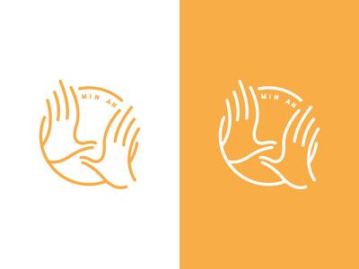 Chinese Massage Logo Design