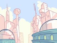 Damaged Cityscape