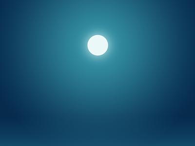 Moonlit daily design light sky night moon moonlit