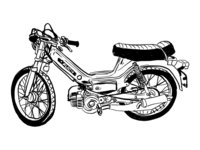 Moped Sketch
