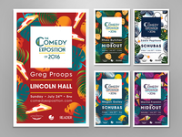 The Comedy Exposition of 2016 Posters