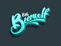 Big Beerwolf Lettering