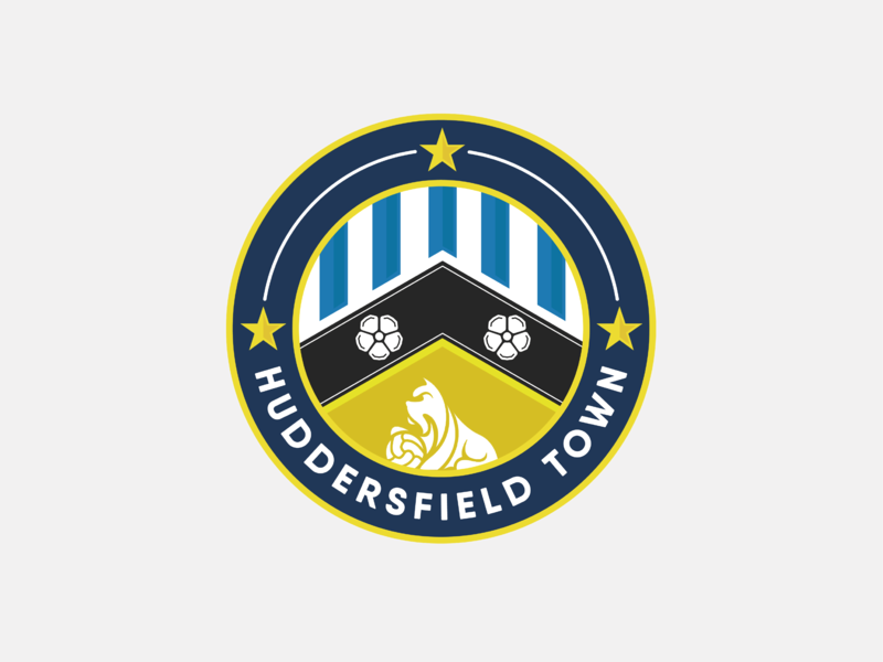 Huddersfield Town FC Crest Concept rebrand premier league huddersfield emblem logo crest football