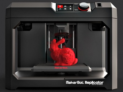 Thingiverse: The Revolutionary Case of the MakerBot perspective red black website online ui ux 3d print design logo