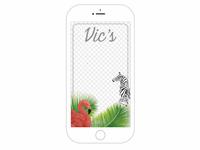 Snapchat Filter Design: Vic's Restaurant NYC