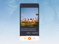 Music Player – Daily UI 009