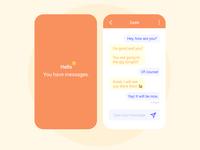 Messenger – Daily UI 013