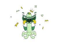 Really spooky monster