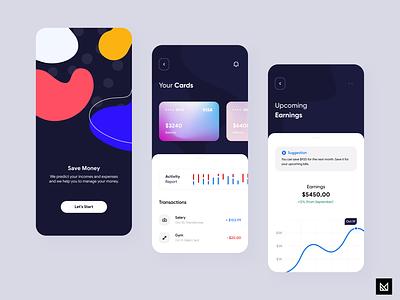 Wallet App finance figma adobe xd activity sketch em design banking card transaction bank ux em ecommerce app minimal ui idea design