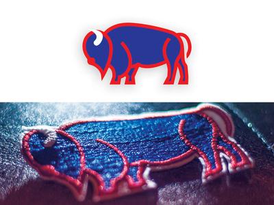 Buffalo Design illustrator logo digitized buffalo buffalo ny