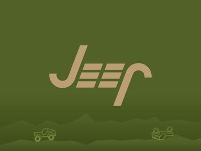 Jeep off roading illustrator logo jeep