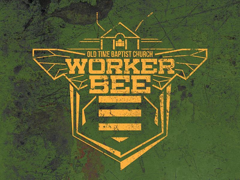 Worker Bee T-Shirt t-shirt logo worker church illustrator bee