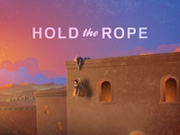 Hold the Rope missionary church logo church design