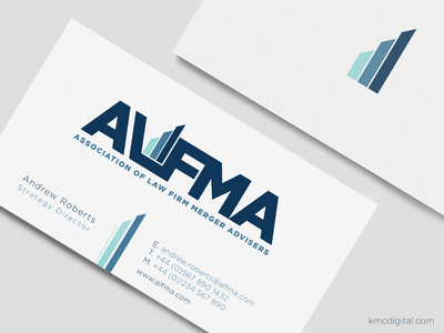 Logo & Business Card Design for Law Firm Merger Advisers
