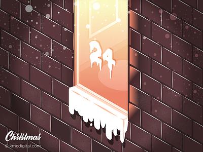 Christmas Eve december christmas christmaseve flat  design editorial vector 2d illustration