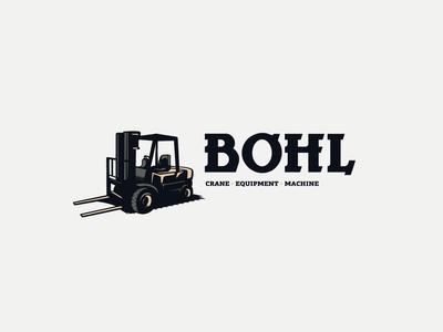Bohl Crane Equipment Machine Logo