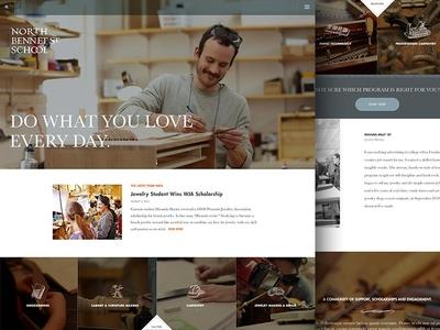 Woodworking Trade School Website