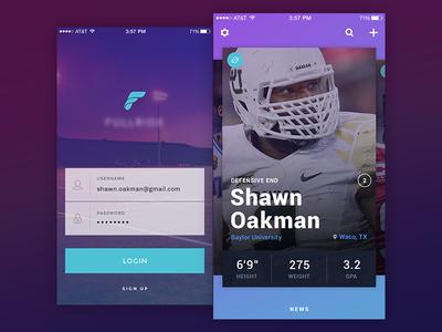 Social sports app