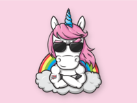 Unicorns, Rainbows and... 🦄  🌈 🦄  🌈