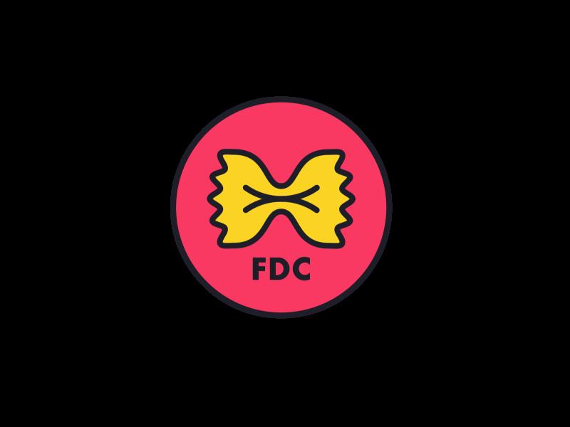 Fancy Dinner Club Logo blog food club dinner fancy bowtie pasta bowtie pasta icon branding logo vector