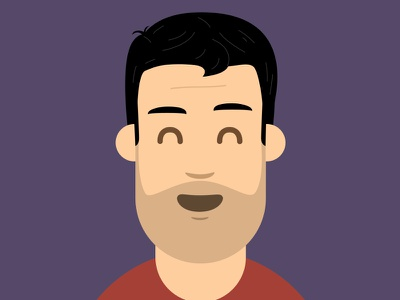 Avatar self portrait illustration design avatar