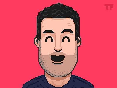 Pixel Art Self Portrait pixel dailies self portrait pixels 16 bit 8 bit retro pixel art pixelart